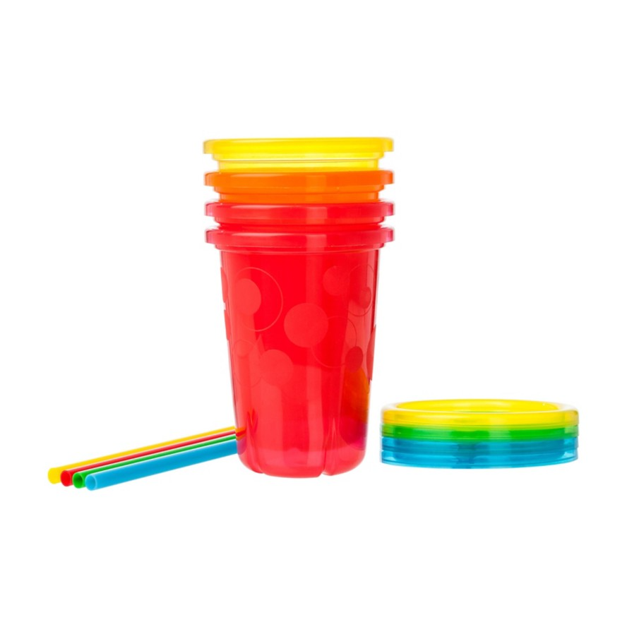 The First Years Take & Toss Straw Cups 18+m - 4 CT