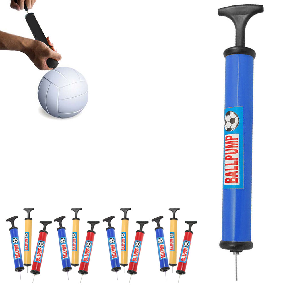 6 Pc Hand Air Pump Inflator Needle Sports Ball Football Basketball Soccer Balls