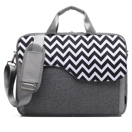 CoolBELL 17.3 Inch Nylon Laptop Bag Shoulder Bag With Strap Multicompartment Messenger Hand Bag Tablet Briefcase For iPad Pro / laptop / Macbook / Ultrabook / Men / Women / -