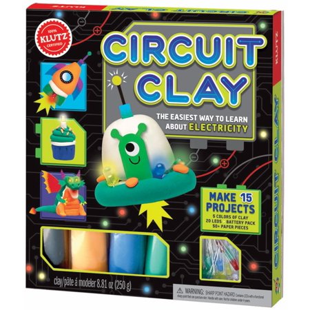 Electricity Kit - Circuit Clay: The Easiest Way to Learn about Electricity
