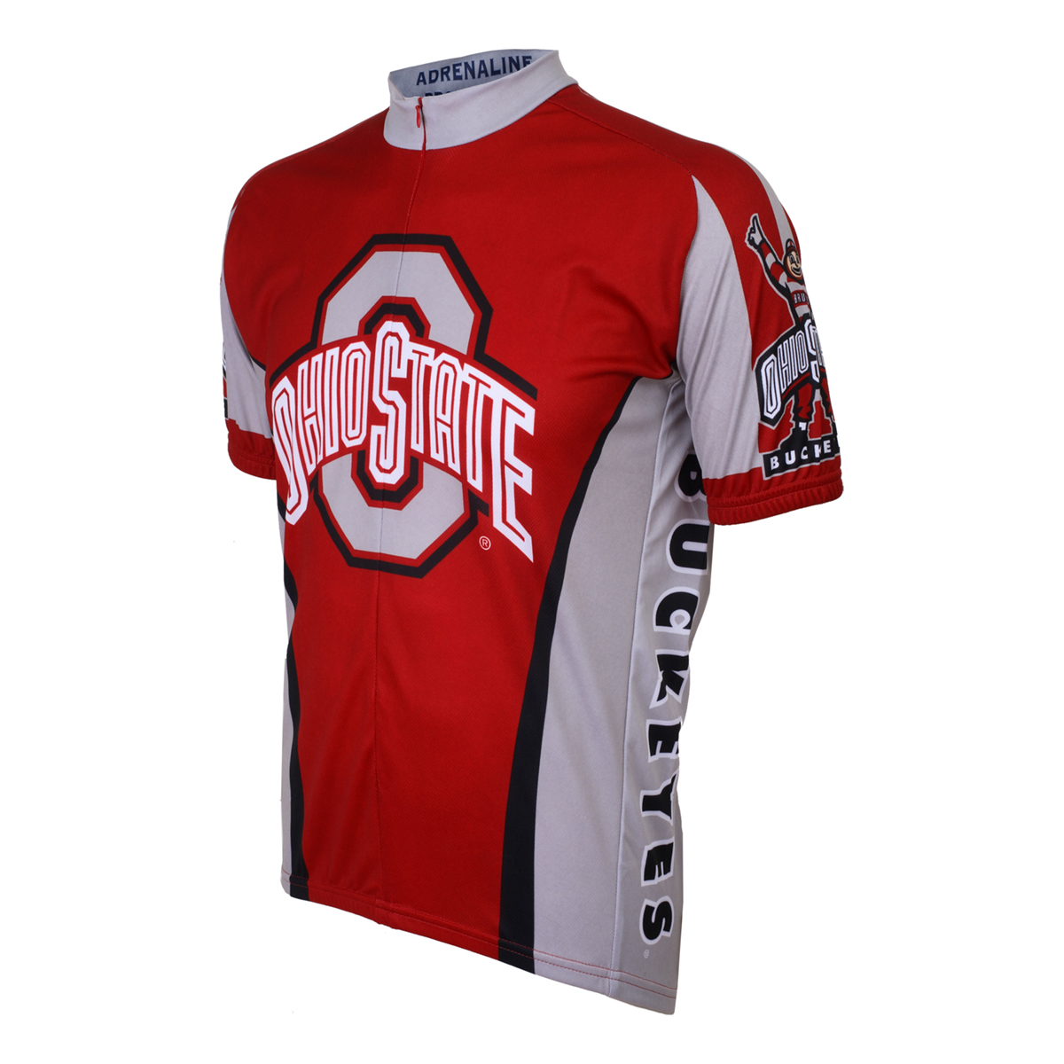 Adrenaline Promotions Ohio State Buckeyes Cycling Jersey