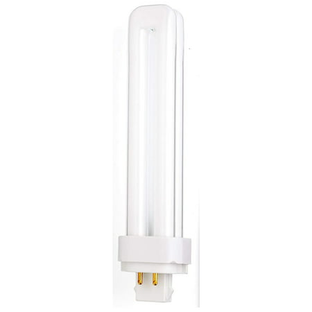 Sylvania 20673 26W Compact Fluorescent 4-Pin Double Tube 3500K 4-PACK