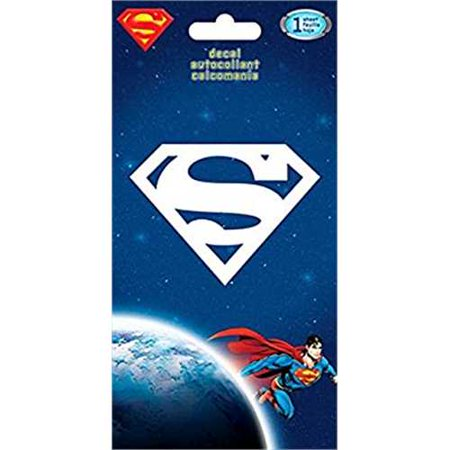 Superman logo decal