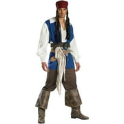 Pirates of the Caribbean Captain Jack Sparrow Classic Adult Halloween Costume