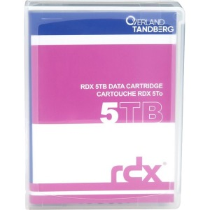 Tandberg 8862-RDX 5TB SATA External Hard Drive Cartridge - Removable - USB 3.0