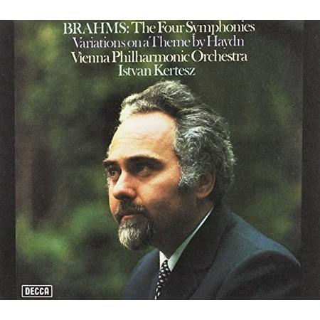 Brahms / Kertesz, Istvan - Brahms: Four Symphonies / Variations on a Theme by Haydn