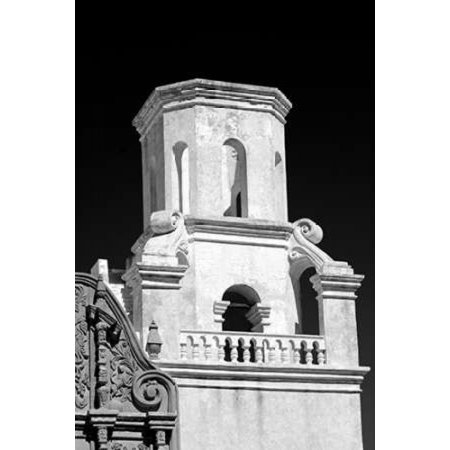 Unfinished Bell Tower Bw Poster Print By Douglas Taylor