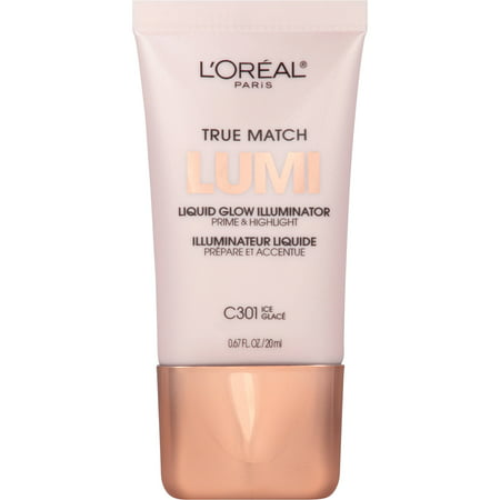 Illuminator Unit (L'Oreal Paris True Match Lumi Liquid Glow Illuminator, C301 Ice, 0.67 fl oz, Ice C 301)