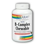Best B Complex High Potencies - Solaray Vitamin B-Complex 250mg Chewable   Natural Strawberry Review