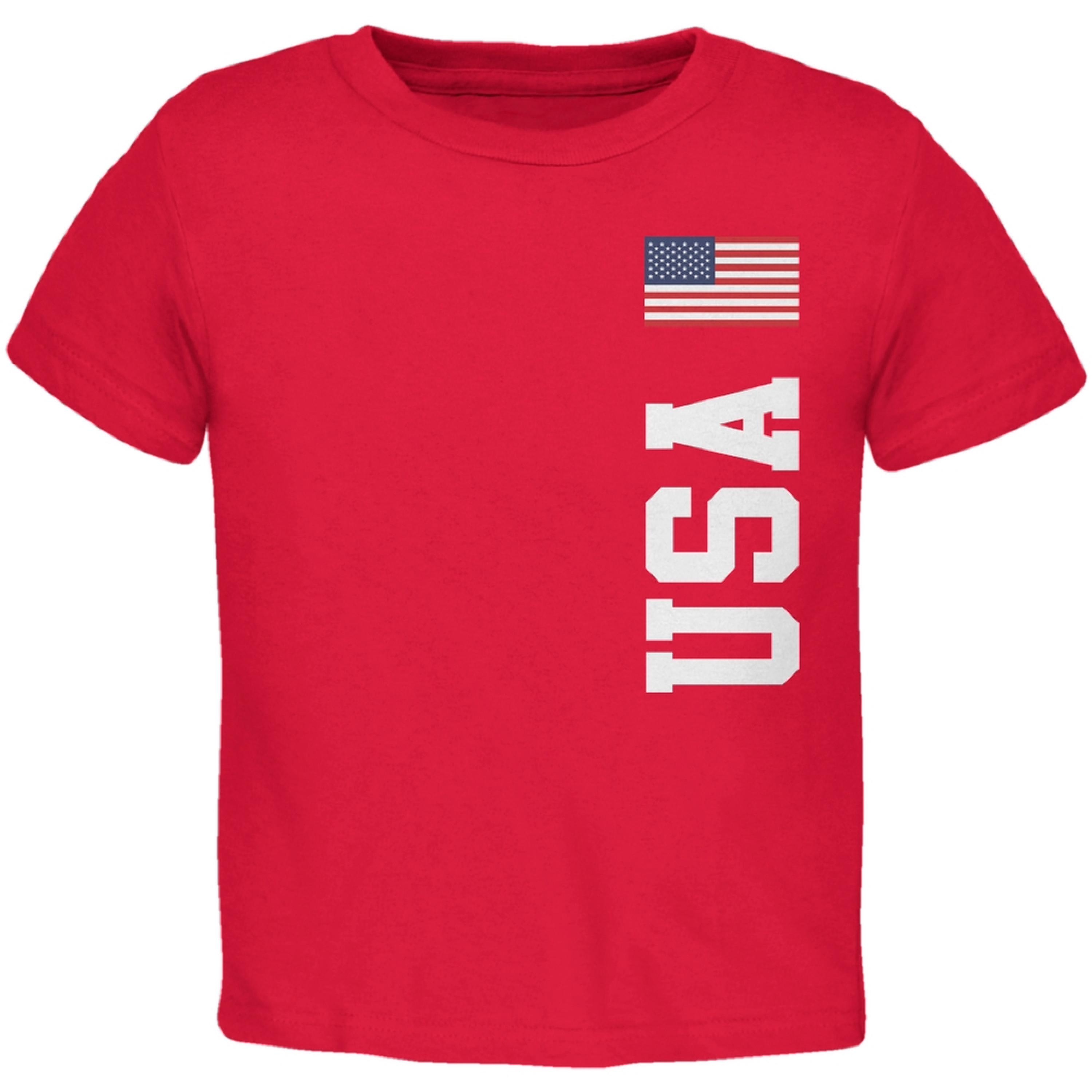World Cup USA Red Toddler T-Shirt