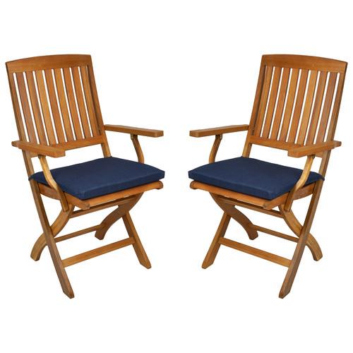 Blazing Needles Outdoor Adirondack Chair Cushion (Set of 4)