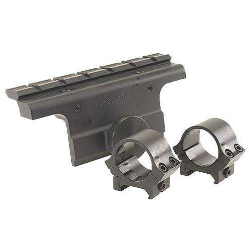 B-Square 18514 Dovetail Scope Mount with Rings for Springfield M-1A/M14, Matte Black