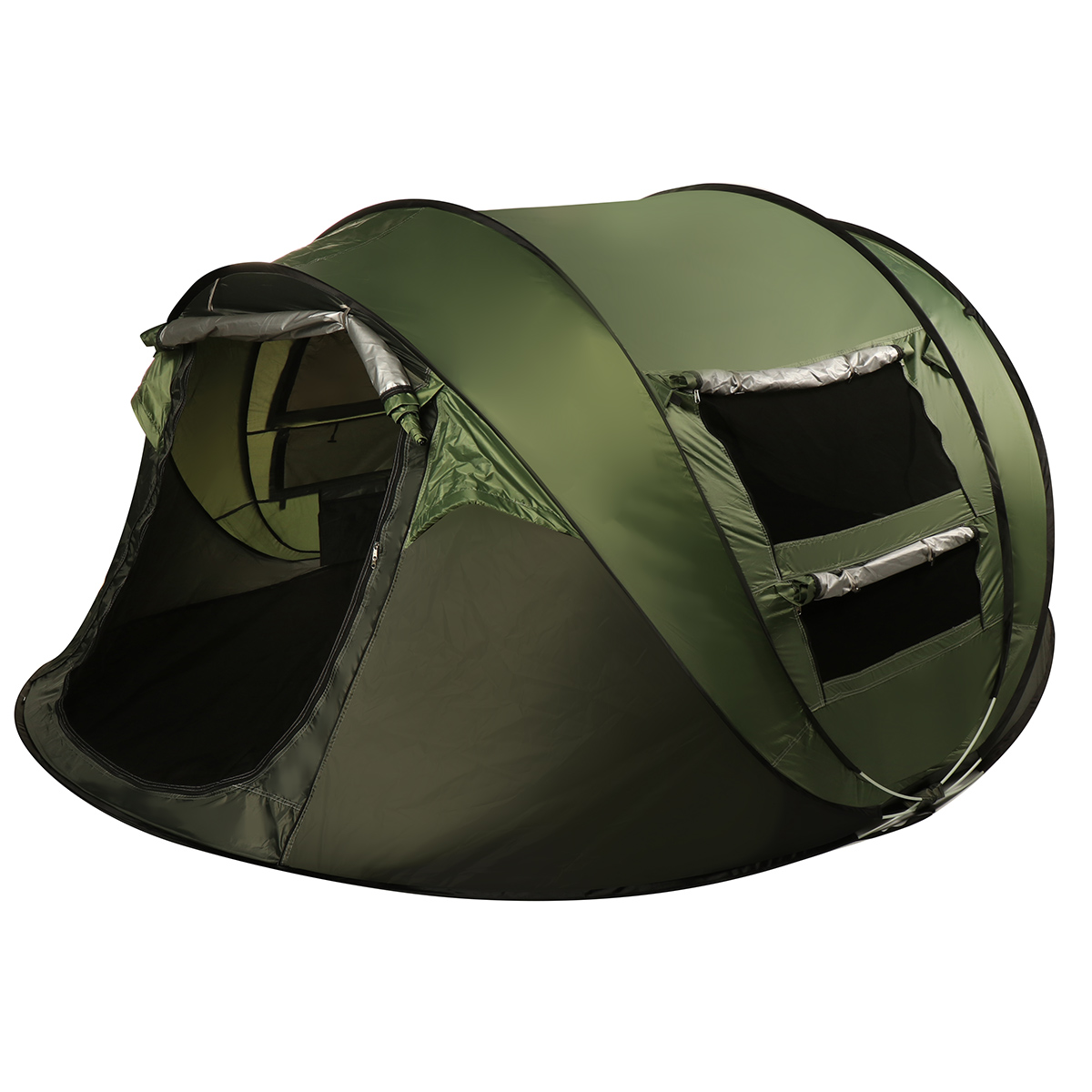 5-8/3-4 Person Camping Dome Tent with Waterproof Automatic ...