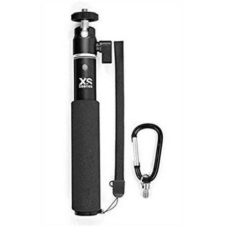 XSories U-Shot, Telescoping Camera Pole Monopod Fits All Digital Cameras, Includes GoPro Mount, GoPro 3, GoPro 3+, GoPro 4,