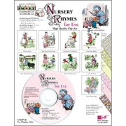 ScrapSMART Nursery Rhymes Clip-Art for Eve CD-ROM, Vintage Images for Scrapbook, Craft, Sewing