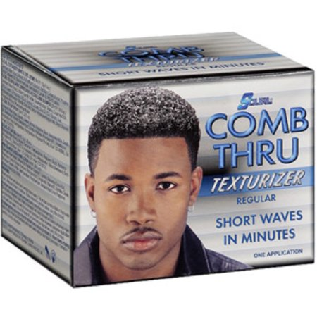 Jerry Curl Kit (Luster's S-Curl Comb Thru Texturizer, Regular 1)