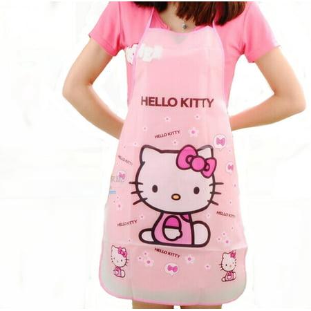 Hello kitty Apron Waterproof Anti-oil Aprons Kitchen Cooking Waist Bib, HK-1