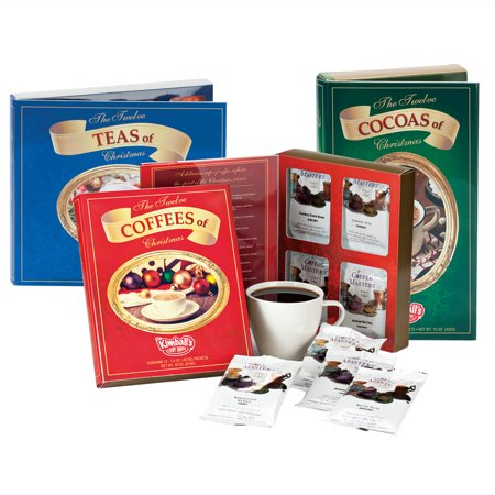 Twelve Teas, Coffees and Cocoas, Set of 3 ()