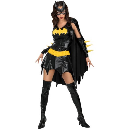 Batgirl Adult Halloween Costume - Batman And Batgirl Halloween Costumes
