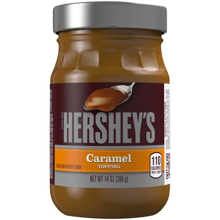 (2 Pack) Hershey's, Caramel Topping, 14 oz