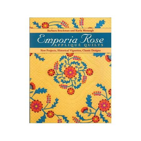 C&T Emporia Rose Applique Quilts Bk