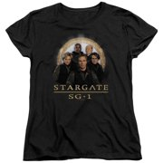 Stargate SG1 Team Womens Short Sleeve Shirt