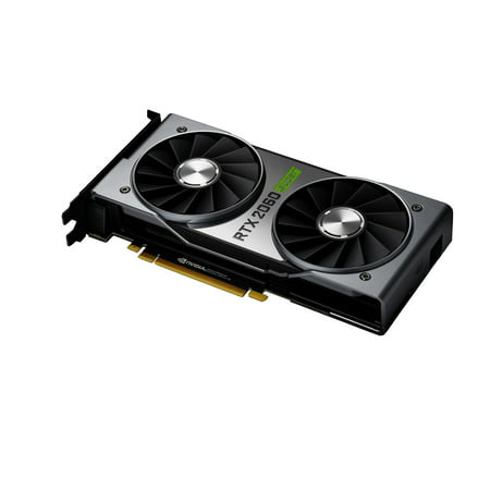 NVIDIA GeForce RTX 2060 SUPER Founders Edition - 8GB GDDR6 1650 MHz - 2176 Cores - Ray Tracing - DirectX 12 - DP/HDMI/DVI-DL - VR (Nvidia Geforce 8,800 Meter Gts)