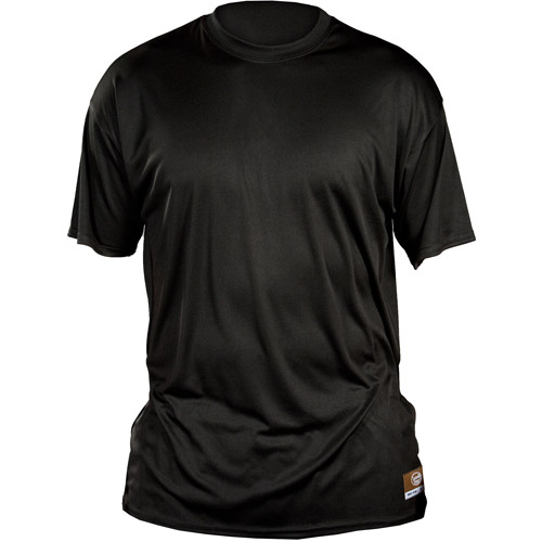Louisville Slugger Adult Slugger Loose Fit Short Sleeve Shirt, Black
