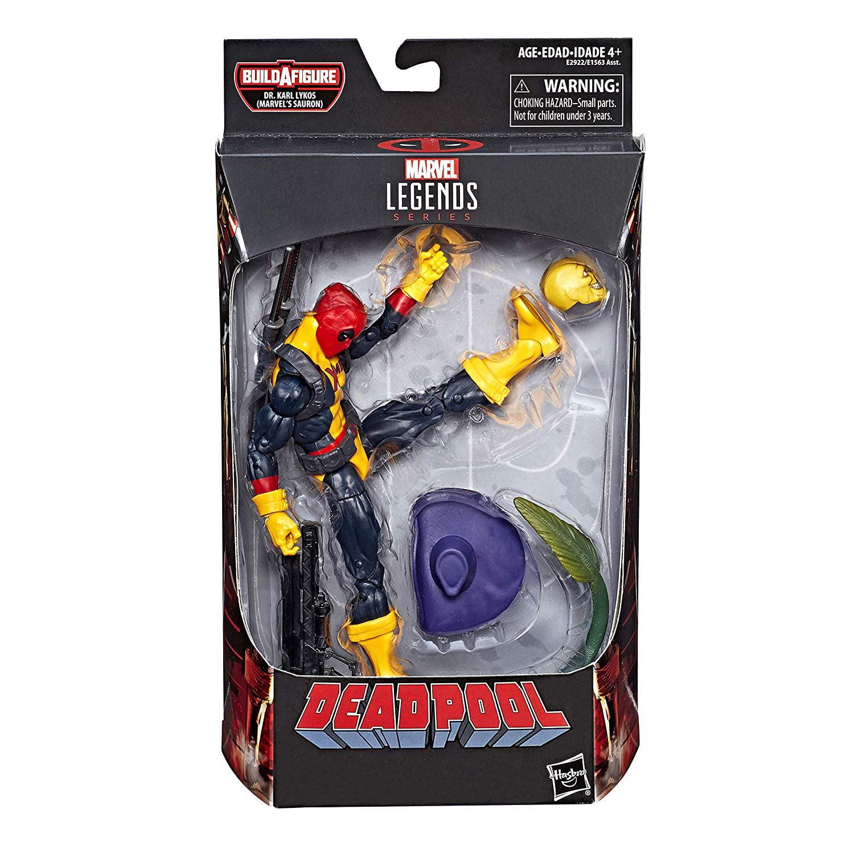 Marvel Legends X-Men Deadpool Minishcap Build a Figure Dr. Karl Lykos by Hasbro