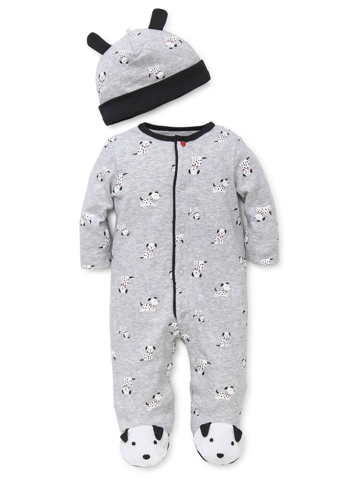 Paw Patrol Dalmatian Firefighter Dog Toddler Pajama Sleeper
