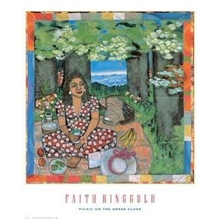 Picnic On The Grass Alone Poster Print by Faith Ringgold (24 x 30)](Home Alone Poster)
