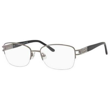 Saks Fifth Avenue Eyeglasses 294 0Ct7 Ruthenium 54Mm