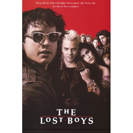 The Lost Boys Poster Vampires - Amazing New 24x36 - Hot Vampire Woman