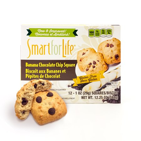 Smart for Life Gluten Free Banana Chocolate Chip Cookies 12 Ct. - Ingredients For Halloween Cookies
