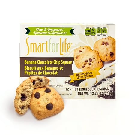 Smart for Life Gluten Free Banana Chocolate Chip Cookies 12 Ct.