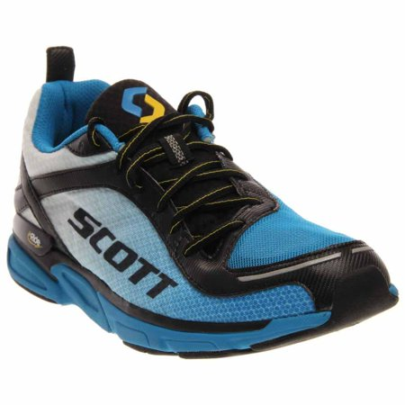Scott Mens Eride Support 2 Running Athletic  Shoes - Blue