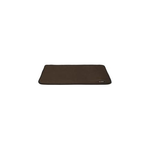 Landing Pad - Small/Coffee Suede