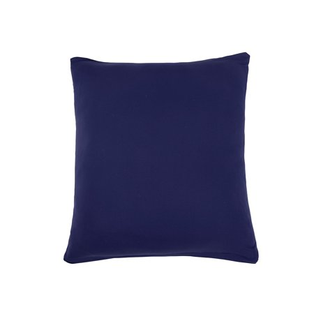 Polyester Elastic Zip Up Sofa  Pillow Cushion Cover Pad Navy Blue 45 x (Navy Blue Camtainer)