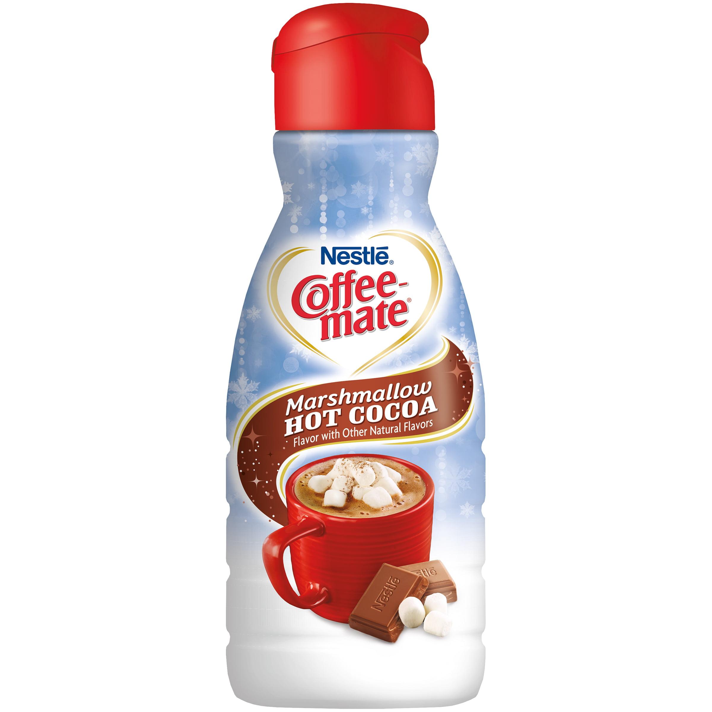 COFFEE-MATE Marshmallow Hot Cocoa Liquid Coffee Creamer 32 ...
