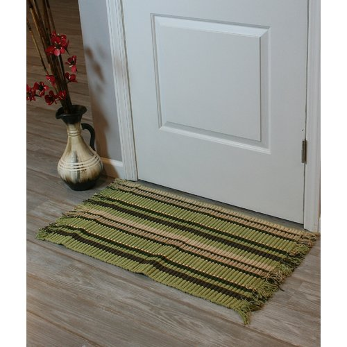 Ess Ess Exports Silk Ribbed Hand-Woven Bayleaf Area Rugs (Set of 2)