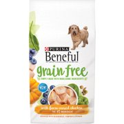 Purina Beneful Grain Free with Farm-Raised Chicken Dog Food, 4.5 lb Bag