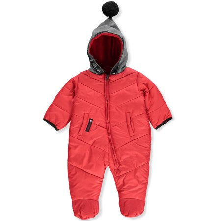 Winter Snowsuit (Canada Weather Gear Baby Girls' 1-Piece Snowsuit )
