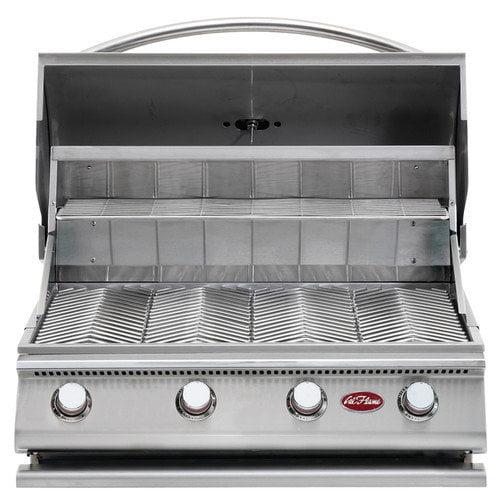CalFlame G-Series Built-In 4-Burner Gas Grill