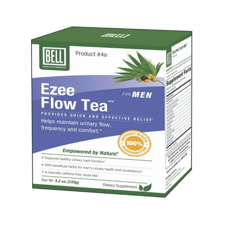 Prostate Ezee Flow Tea 120Gram by, Combined power of twelve different herbs to help with urinary frequency By Bell