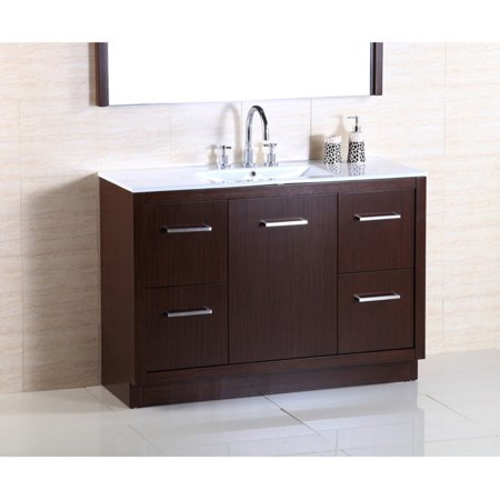 Bellaterra Home 502001A Single Sink Bathroom Vanity