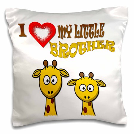 3drose I Love My Little Brother Two Giraffes Popular Quotes