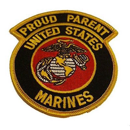 USMC PROUD PARENT UNITED STATES MARINES PATCH EAGLE GLOBE ANCHOR EGA MOM