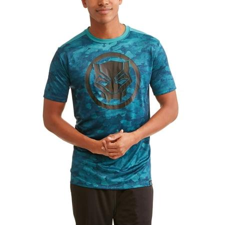 Black Panther Jungle Action Cover Men's Graphic T-Shirt, 2XL