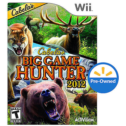 Cabela's Big Game Hunter 2012 (Wii) - Pre-Owned - Game Only