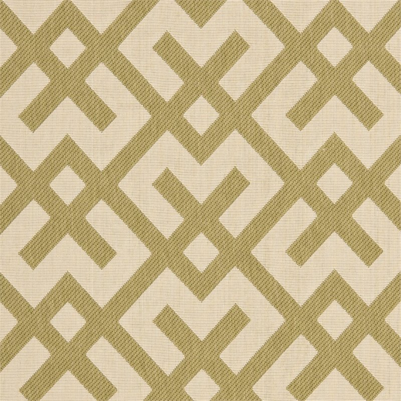"Safavieh Courtyard 2'3"" X 6'7"" Power Loomed Rug in Beige and Green - image 1 de 3"
